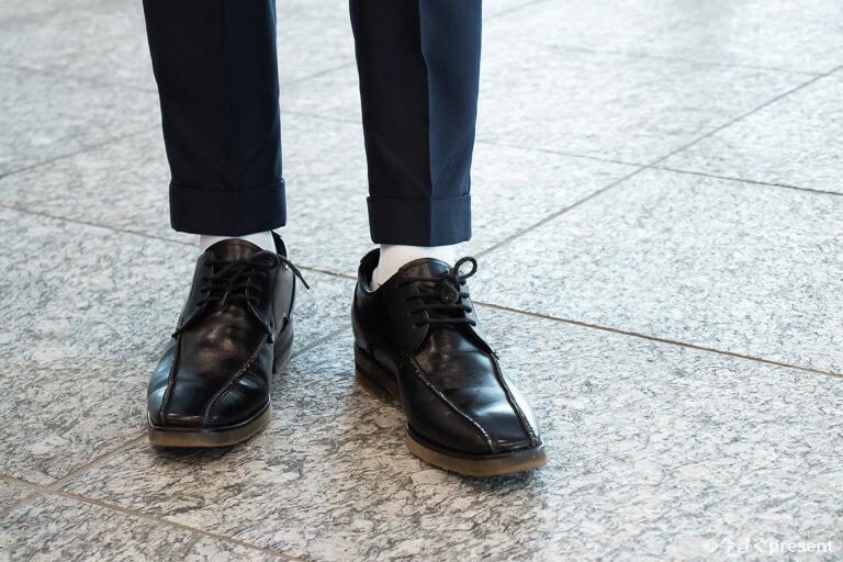 FABRIC TOKYO_スーツ_パンツの丈感