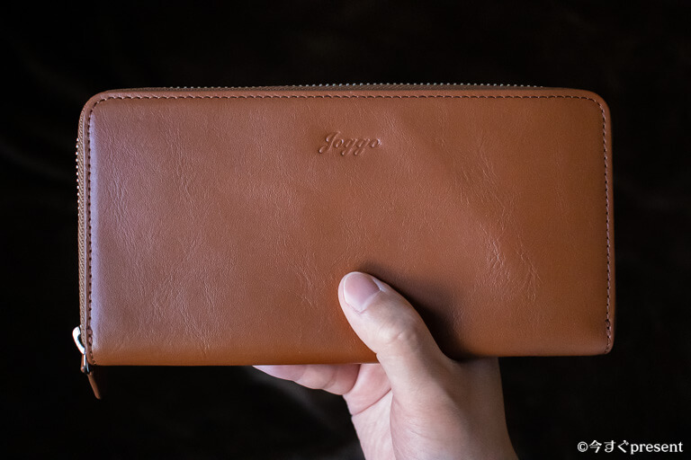 JOGGO_メンズラウンドファスナー財布_外側