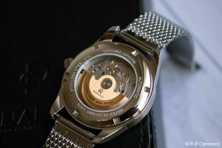ルノータス_Classic Automatic 40mm_ムーブメント