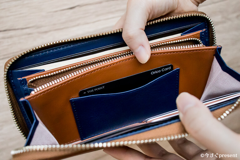 JOGGO ジョッゴ ラウンドファスナー財布 カードポケット_2