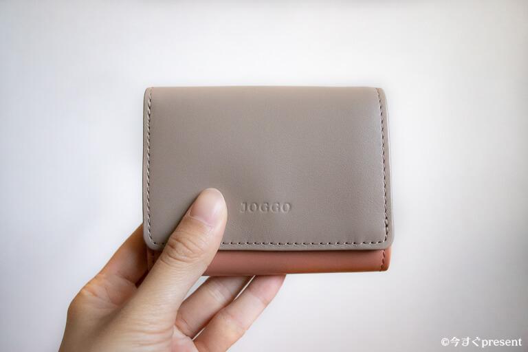 JOGGO_レディース三つ折り財布_外側_2