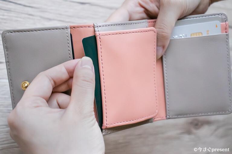 JOGGO_レディース三つ折り財布_カードポケット_2