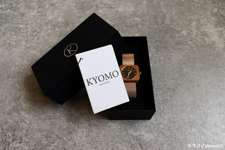 KYOMO_腕時計_ブランドのロゴ