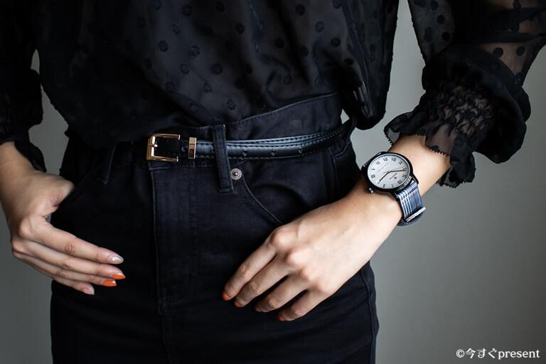 ルノータス_購入した腕時計_ico着用