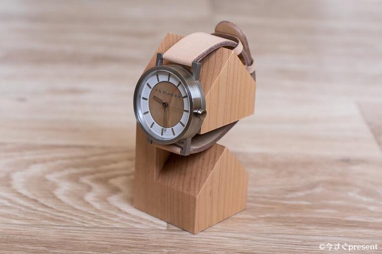 hacoa_木製腕時計スタンド