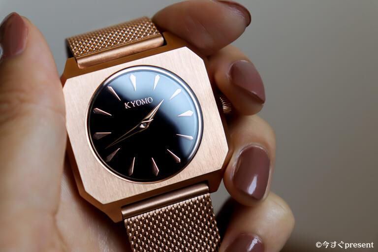 KYOMO WATCHS_腕時計_文字盤と風防