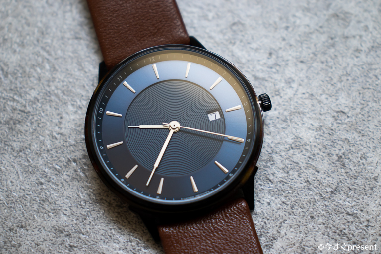 LAGOM WATCHES_文字盤アップ