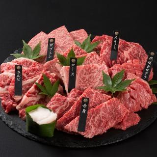 神戸牛 6点食べ比べ焼肉600g