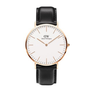 Daniel Wellington シェフィールド ローズ 40mm Classic Sheffield