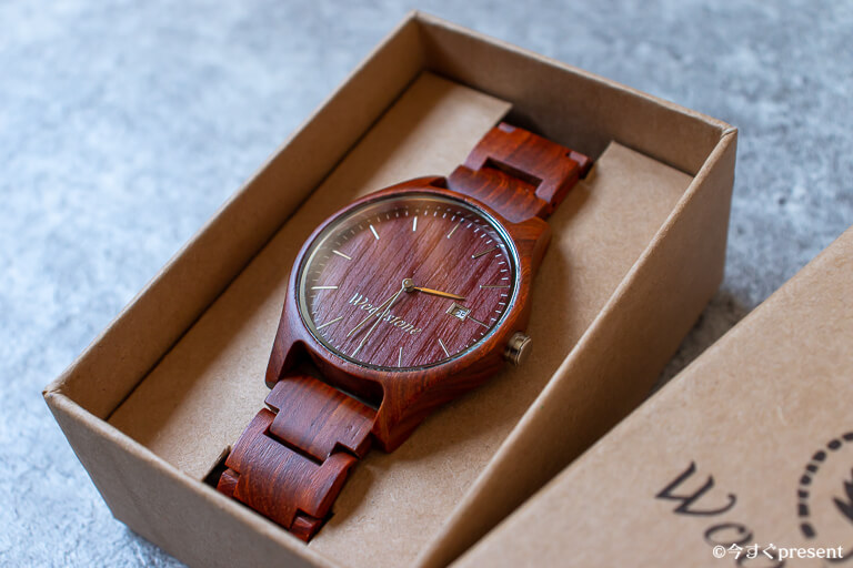 WOODSTONE Watches_文字盤アップ1
