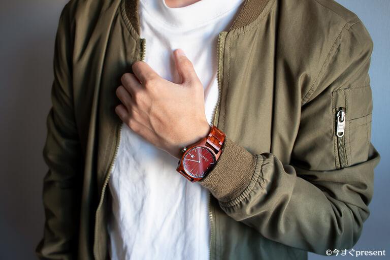 WOODSTONE Watches_カジュアルコーデ2