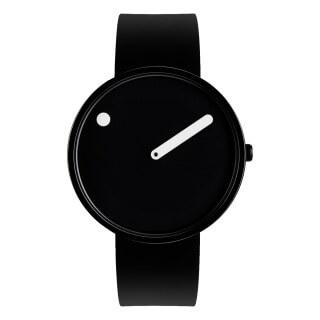 PICTO 40mm ブラックダイヤル 腕時計
