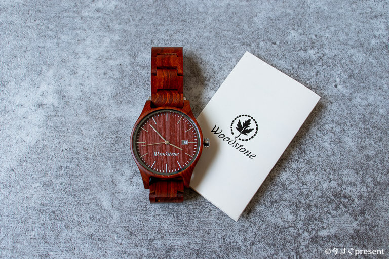 WOODSTONE Watches_説明書とピース