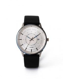 LAGOM 時計LW037-シルバー.シルバー.ブラック