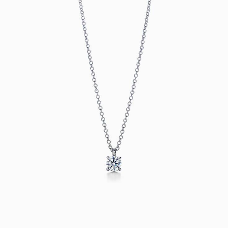 ティファニー_ダイヤモンドネックレスの商品写真
