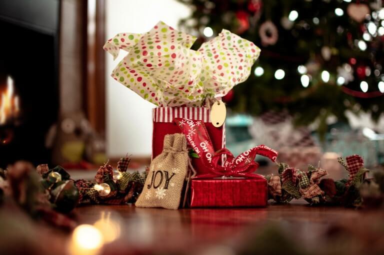 インスタ映えするクリスマスプレゼントのイメージ