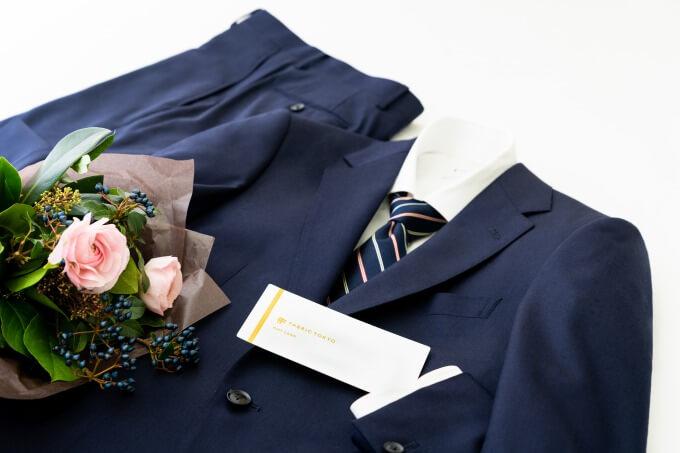 FABRIC TOKYO_ギフトカードとオーダースーツのイメージ写真