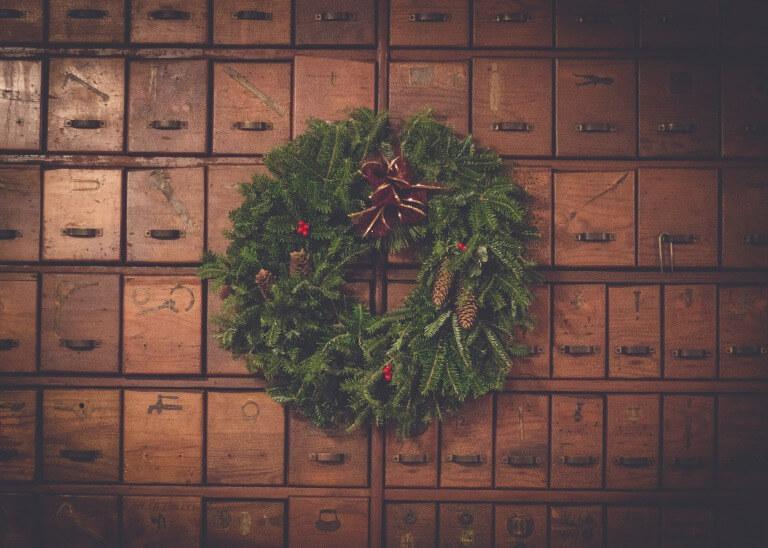 クリスマスのリース2