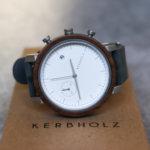 【徹底評価】KERBHOLZ(カーブホルツ)の腕時計3つをレビュー