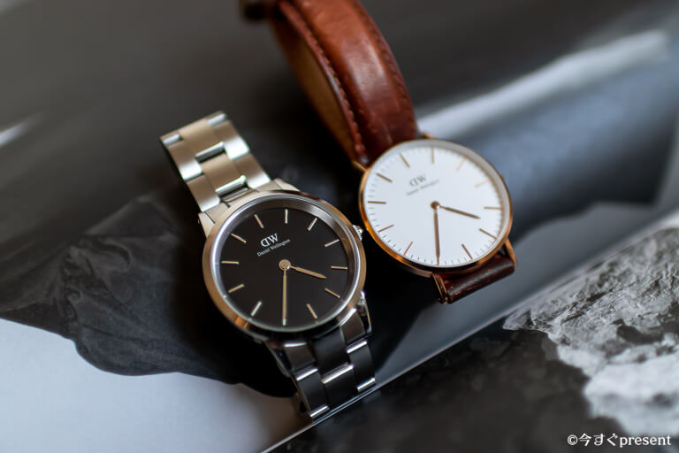Daniel Wellington_ICONIC LINKとCLASSIC DURHAM