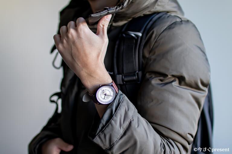 Lagom Watches_LW031_コーデ_アウトドア