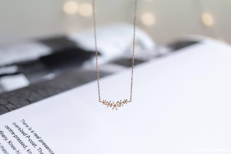 sowi_スノーダスト ネックレス ダイヤモンド1