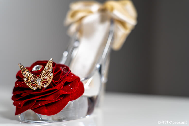 メリアルームメン_ガラスの靴_バラ1