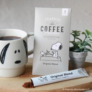 INIC coffee_スヌーピー コーヒースティック 3本入_商品写真