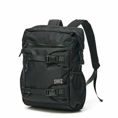 AS2OV_CORDURA DOBBY 305D SD BACK PACK BLACK_商品写真