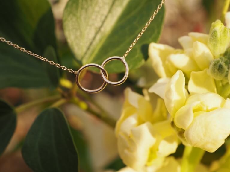 Jihé, stay gold._Eternity Necklace_商品写真