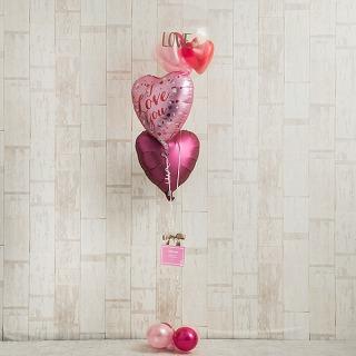 Ballon Kitchen_ピンクグラデーションでI LOVE YOU_商品写真 (1)