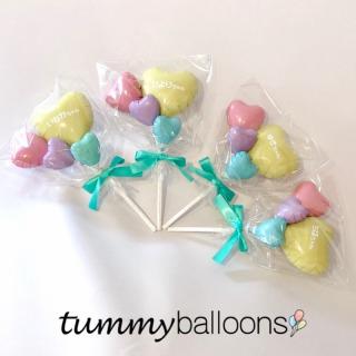 tummyballoons_プティスティックバルーン*シンプルパステルタイプ_商品写真