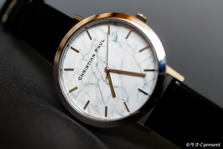Christian Paul_ブラック_レビューする腕時計1