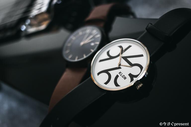 インデックスが個性的な腕時計2