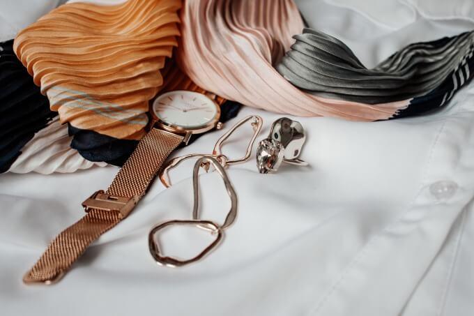 おしゃれな腕時計のイメージ写真_1