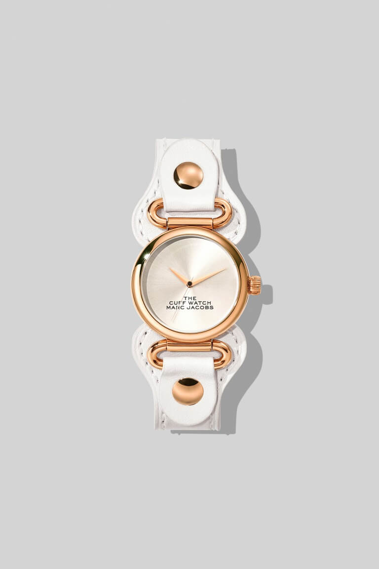 Marc Jacobs_The Cuff Watch 32mm_ホワイト