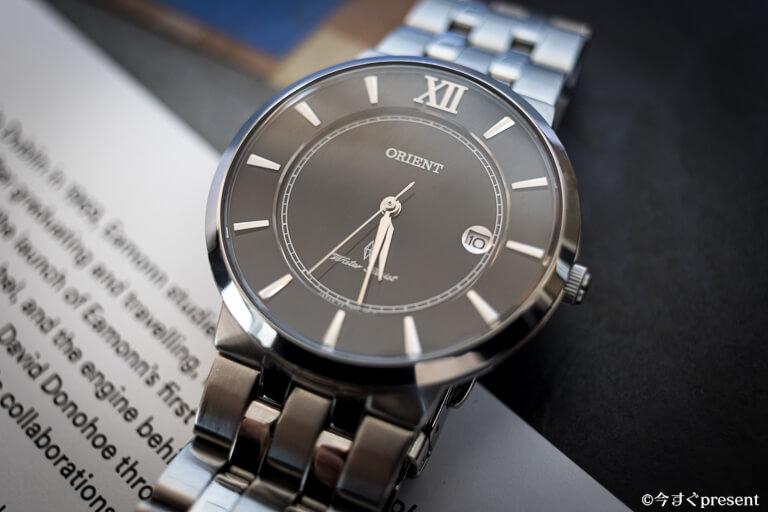 メタルバンドの腕時計2