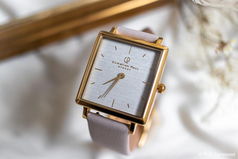 クリスチャンポール_バイロン_BY03PCYG_レビューする腕時計