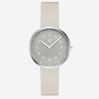 MAVEN WATCHES_SMOKE GREEN OFFWHITE 34mm