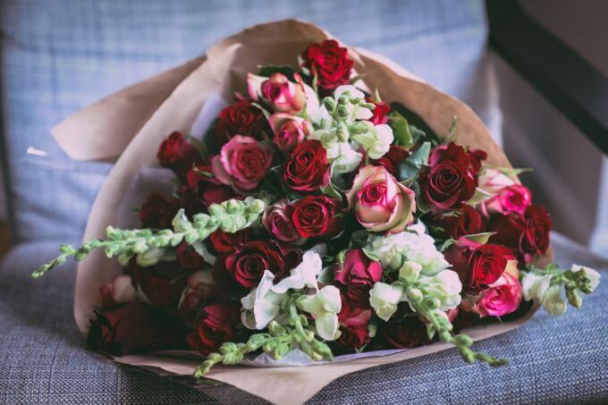 バラの花束のイメージ写真4