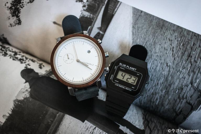 デジタル時計とアナログ時計2