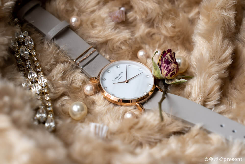ROSEFIELD_WPCGRG-W89_レビューする腕時計