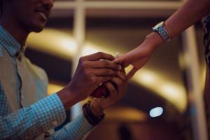 プロポーズのイメージ写真