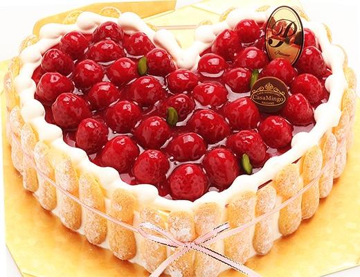 カサミンゴー_人気ケーキ_ハート