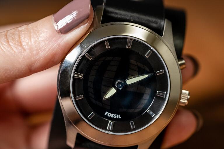 FOSSIL_フォッシル_腕時計_BIC TIC_インデックスと針
