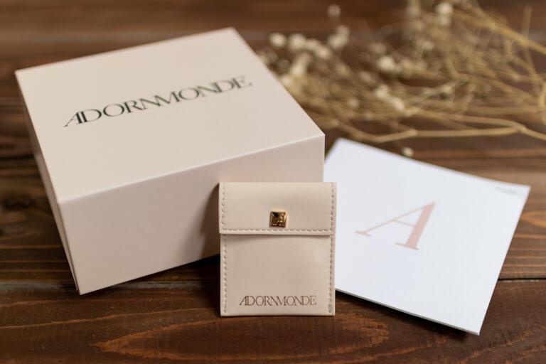 ADORNMONDE(アドーンモンド)_Coy Gold 925 Silver Earcuff Set_ボックス