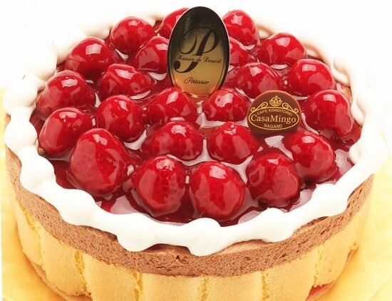 CASA MINGO_カサミンゴー_最高級洋菓子 ヴァルトベーレ木苺チョコレートケーキ