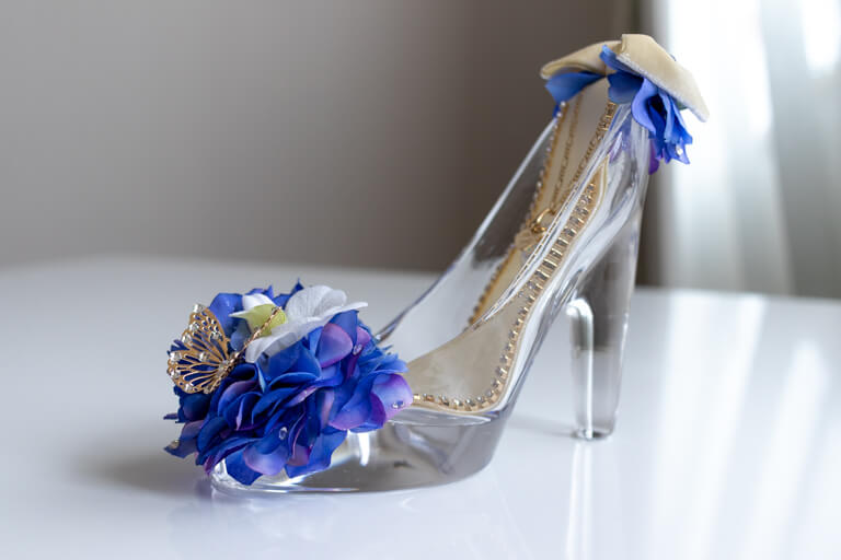 プロポーズ・シンデレラのガラスの靴_オーシャンブルー_全体の写真_2