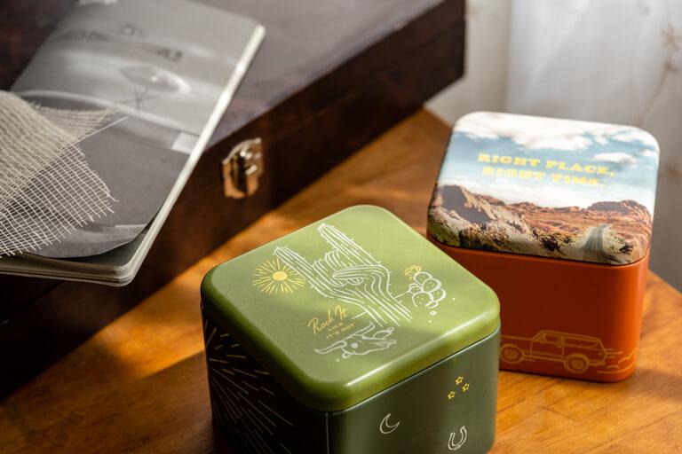 FOSSIL_フォッシル_腕時計_BIC TIC_缶のボックス