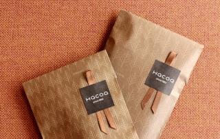 Hacoa_ハコア_木製のしおり・ブックマーク「Bookmark」_ラッピング